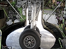 Boeing 737 wheel well