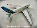 Airbus A380 die-cast model airplane