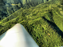 Glider flying wing view