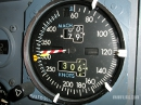 Boeing 737 airspeed indicator (speed gauge)
