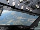 Boeing 737 cockpit window