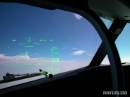 Boeing 737 head up display (HUD)