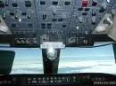 Canadair CRJ cockpit overhead panel