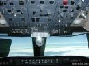 Canadair CRJ cockpit overhead panel