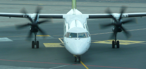 Dash 8 turboprop