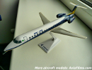 Embraer 145 plastic airplane model