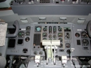 Fokker 50 cockpit throttles