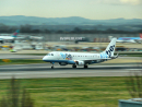 FlyBe Embraer 170 take-off