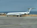 MD-83 aircraft