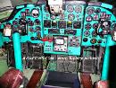 Tu-134 cockpit